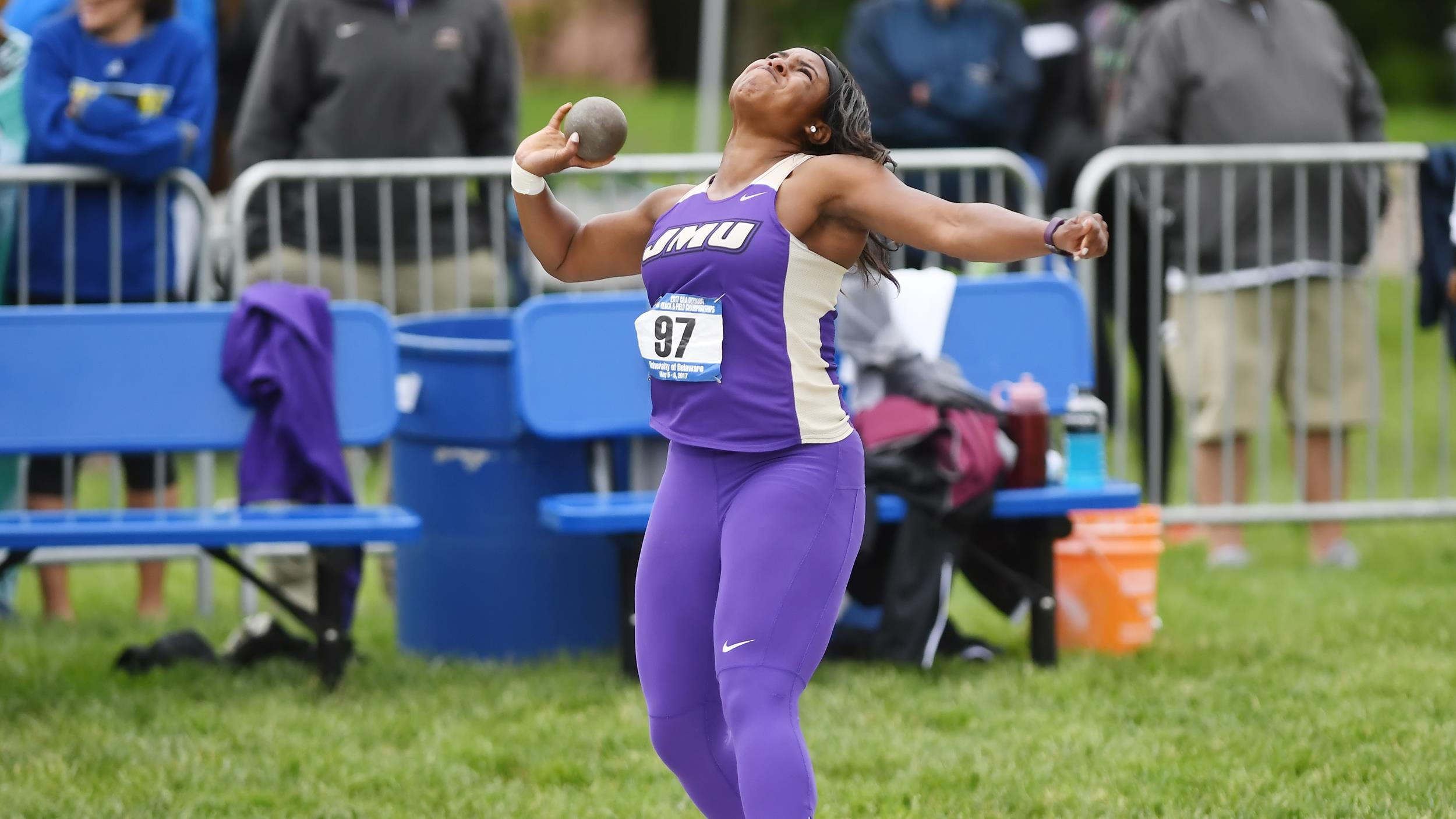 Track & Field: Dukes Complete Day One At VCU Ram Invite)