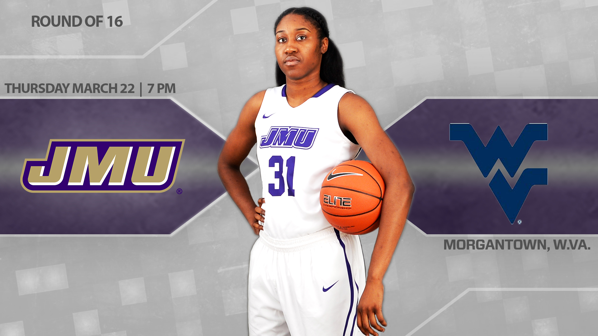 Women's Basketball: Dukes Travel to Morgantown for a WNIT Third Round Matchup)