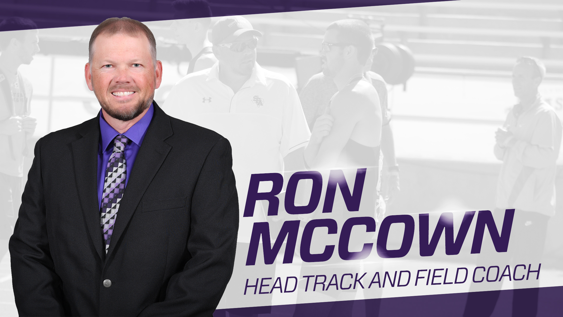 Track & Field: Ron McCown Named Head Coach for Track & Field