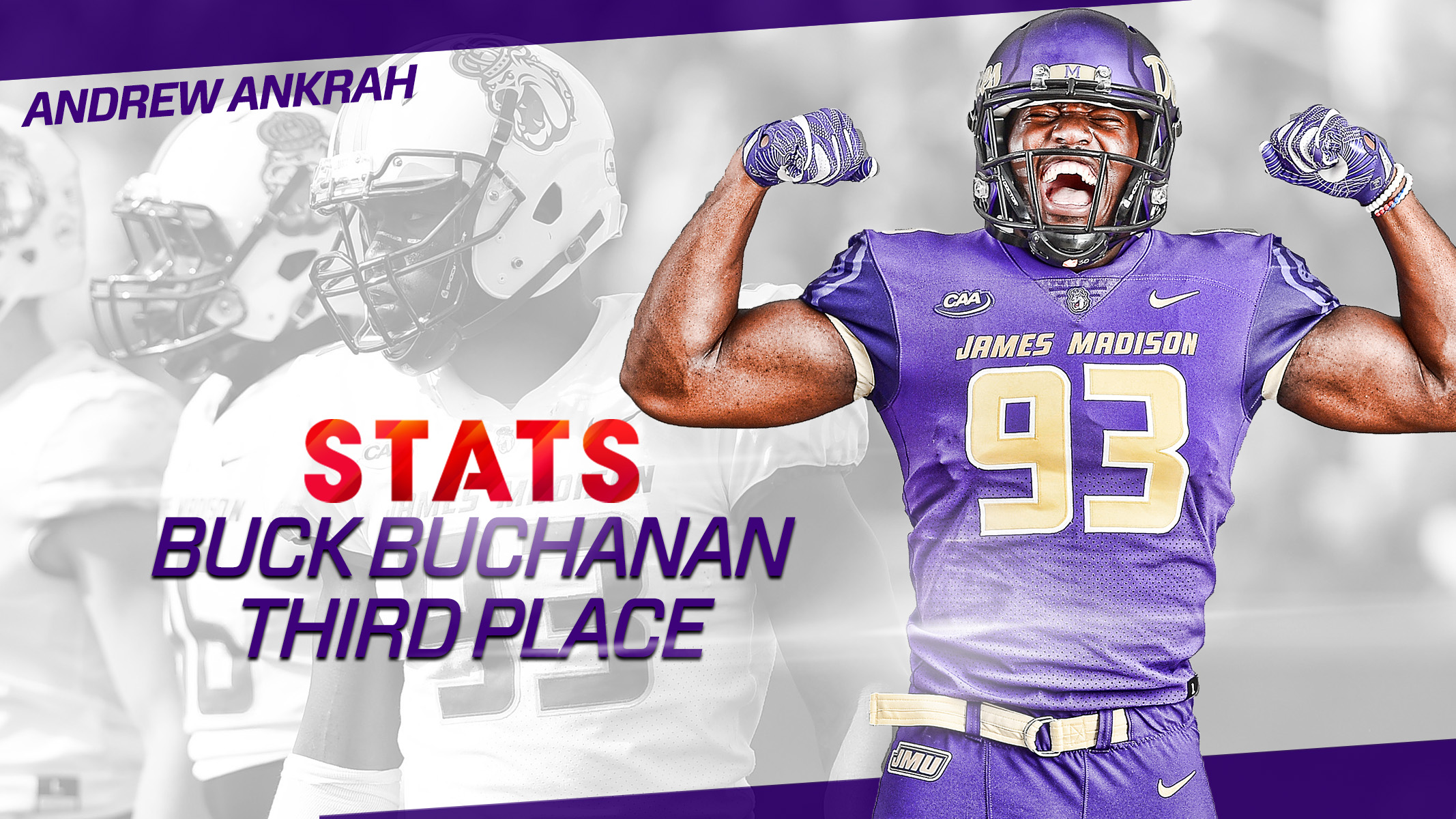 buy popular dbfb4 0f3ab Andrew Ankrah Voted Third for Buck Buchanan Award ...